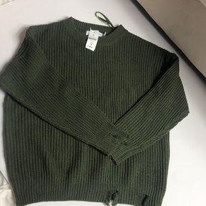 LF knit sweater
